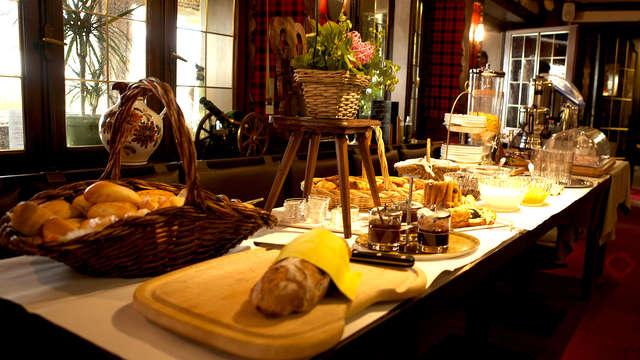 Pause gastronomique au coeur de l'Alsace à Wangenbourg