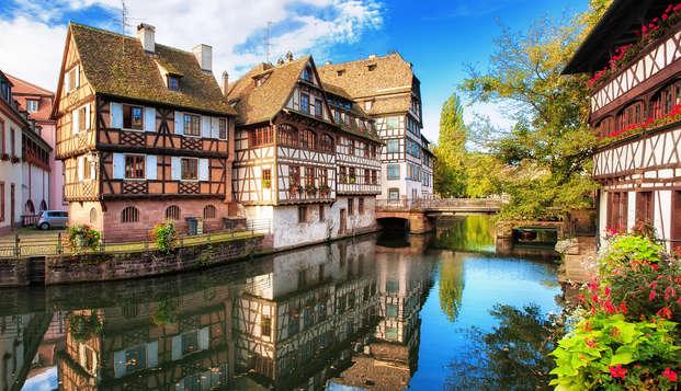 Visitez Strasbourg et reposez-vous dans un hôtel de charme à Wangenbourg