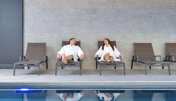 Romantisch genieten en ontspannen in modern hotel vlakbij Luik