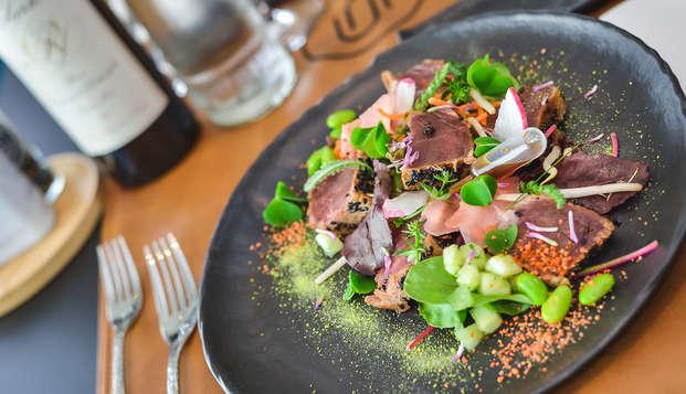 Culinair genieten met spa vlakbij Luik