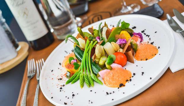 Gastronomie, wellness en luxe in prachtig designhotel in de Ardennen