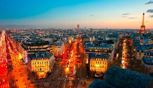 París, en un hotel de 4*