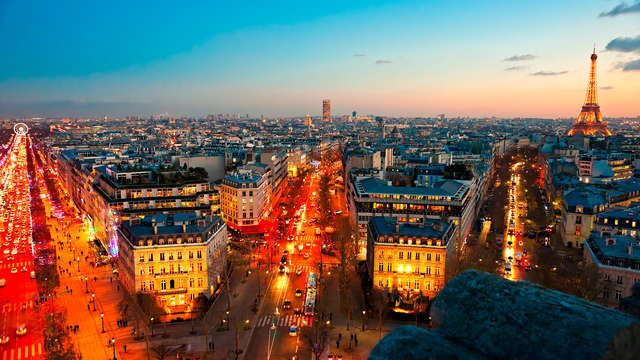 Hotel Georges Washington - christmas paris