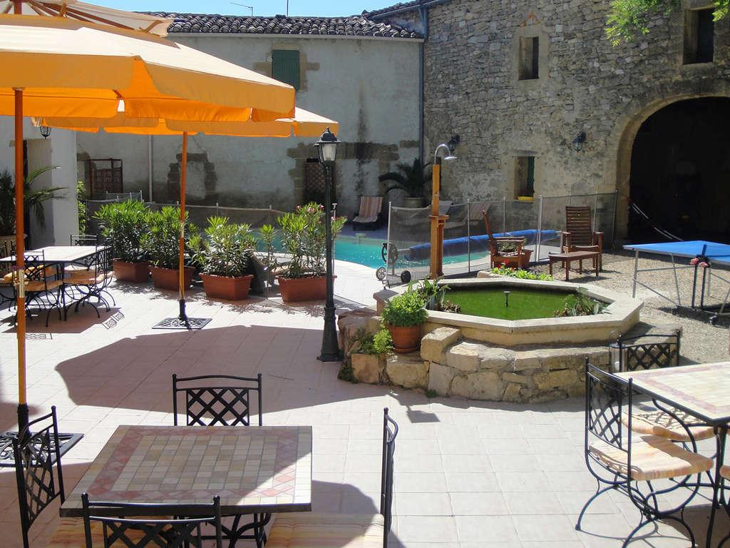 Séjour Languedoc-Roussillon - Week end près d'Uzès dans une Bastide de charme