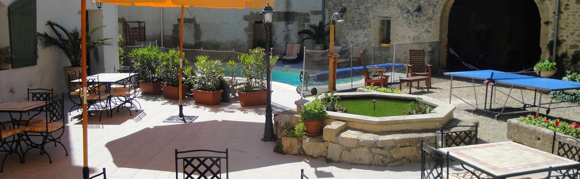 Week end avec dîner provençale dans une chambre d'hôtes près d'Uzès