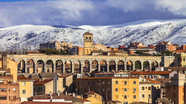 Especial Black Friday en Segovia: con acceso al circuito termal, cena típica y detalles románticos
