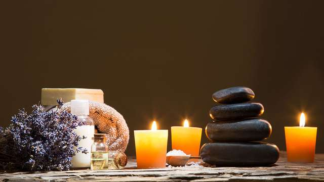 Massage en toegang tot de spa in de buurt van Lyon