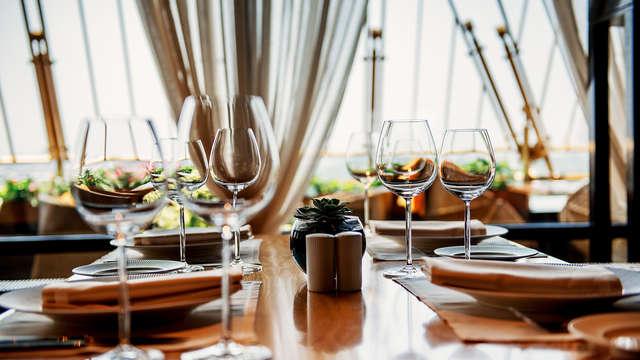 Solden: Kom tot rust en geniet van een gastronomisch diner