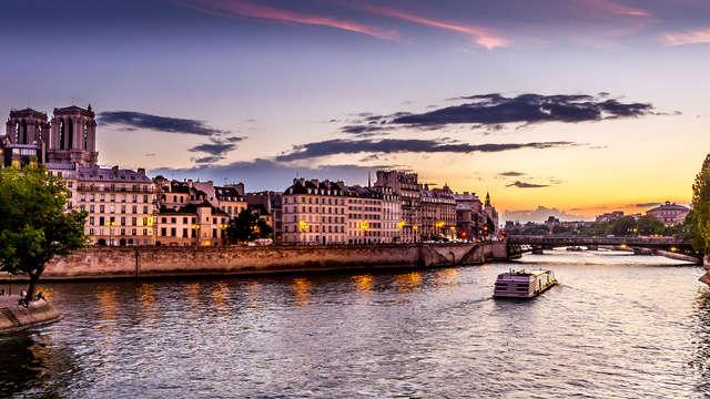 Détente dans un hôtel 4* et dîner sur la Seine