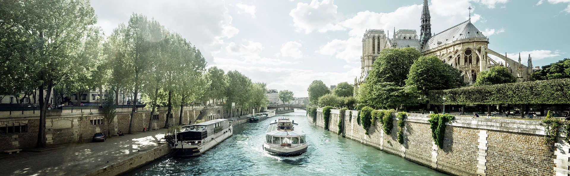 Séjour confort près de Paris et croisière sur la Seine