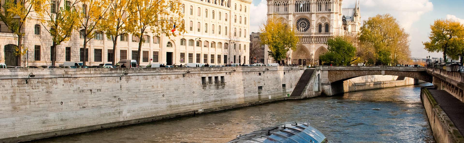 Séjour printanier à Paris et balade sur la Seine ! (à partir de 2 nuits)
