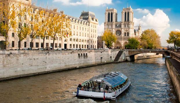 Week-end aux portes de Paris avec croisière sur la Seine