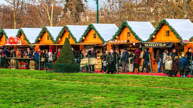 Informations sur le marché de Noël de Paris