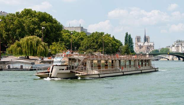 Rêve à Paris avec une croisière sur la Seine