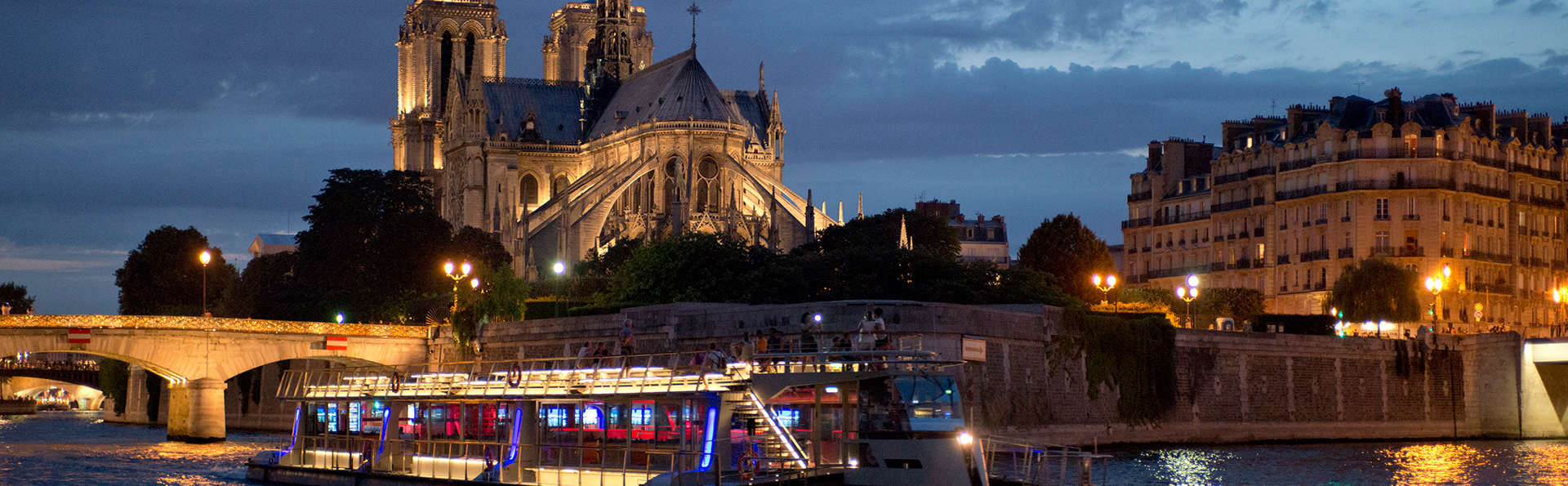 Er tussenuit in Parijs met boottocht over de Seine