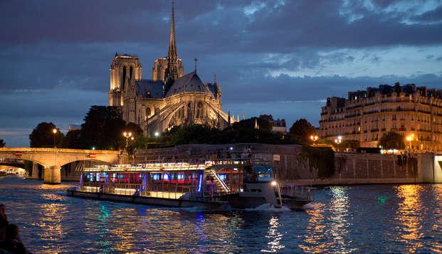 Ambiance rétro et croisière sur la Seine à Paris