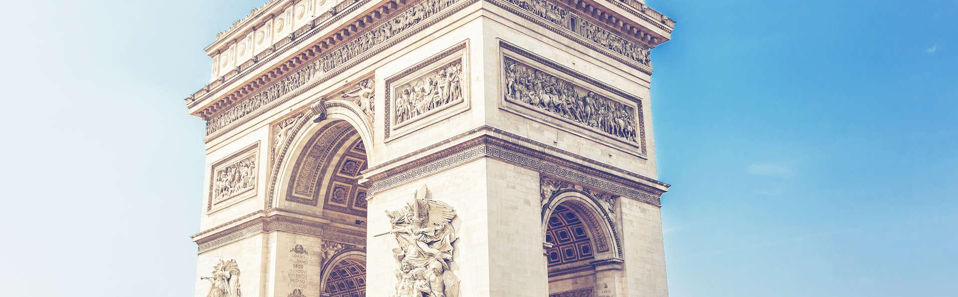 Week à Paris et visite de l'Arc de Triomphe