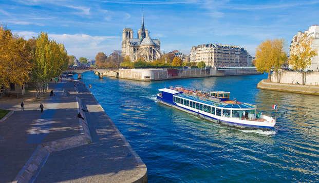 Descubre París y disfruta de un crucero por el Sena