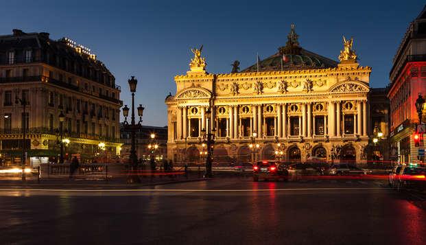 Alójate en un 4* de París y visita la Ópera Garnier