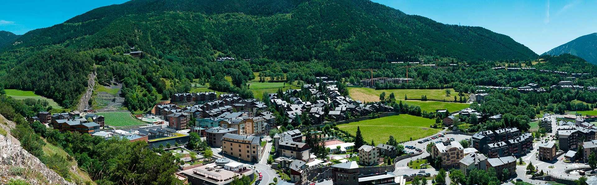 Ontspanning met toegang tot spa in de Pyreneeën van Andorra