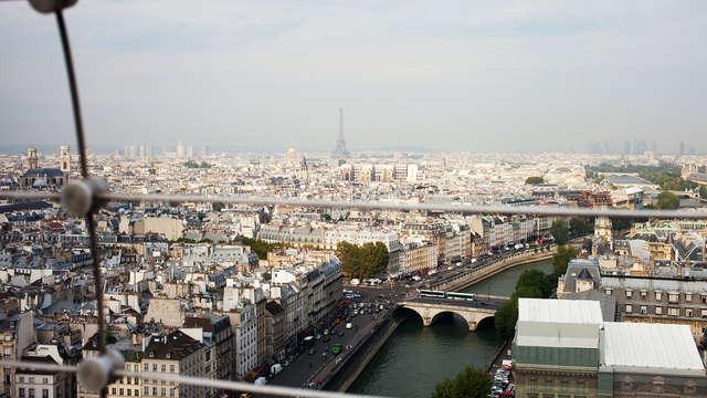 Détente et visite du sommet de la Tour Montparnasse