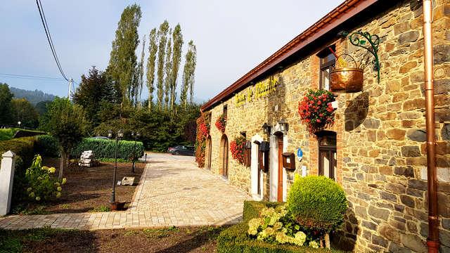 Week-end gastronomique avec 2 dîners 3 plats près de La Roche-en-Ardenne (à partir de 2 nuits)