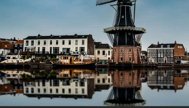 Séjour dans le centre-ville monumental de Haarlem