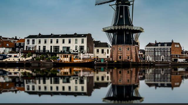 Centraal verblijf in de monumentale stad Haarlem