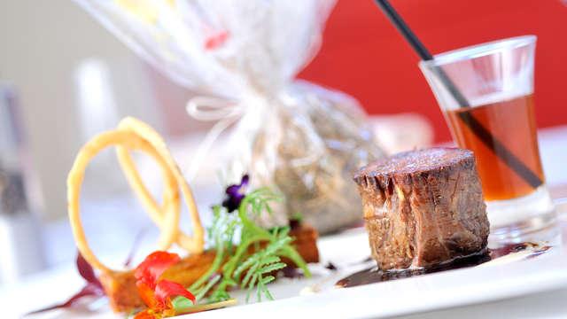 Week-end avec dîner dans un restaurant gastronomique à Bagnoles de L'Orne