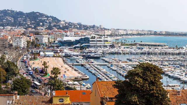 Week-end romantique à Cannes
