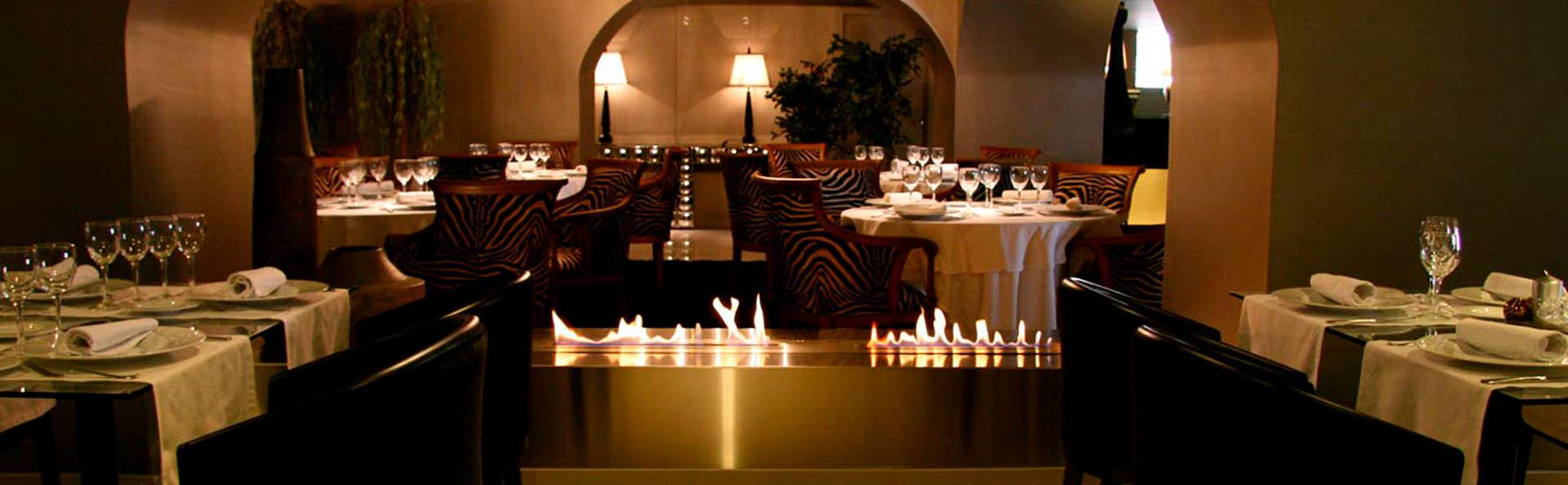 Escapade avec dîner dans un hôtel design entouré de montagnes