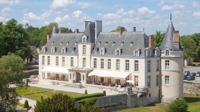 Séjournez dans un magnifique château 5* à 1H de Paris