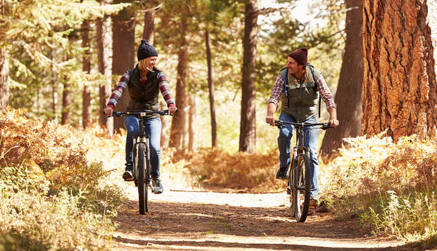 Découvrez la belle région des Ardennes autour de la ville de Spa à vélo