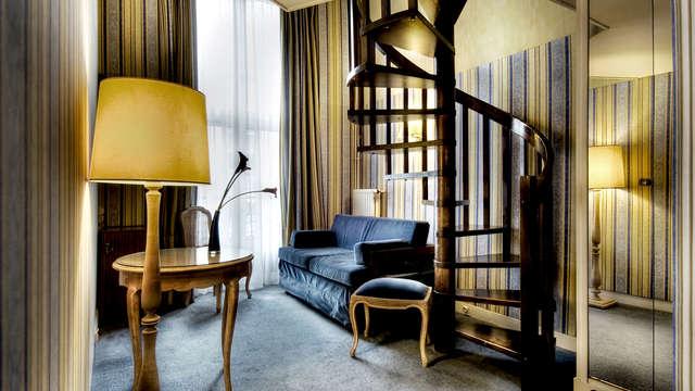 Week-end en chambre deluxe au coeur de Paris à proximité de l'Opéra