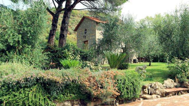 Charme et vue pamoramique sur les collines d'Ombrie