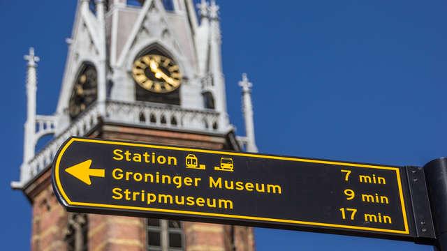 Citytrip naar het bruisende Groningen inclusief gratis parkeren