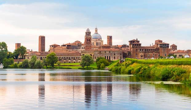 Weekend relax con accesso spa vicino a Mantova