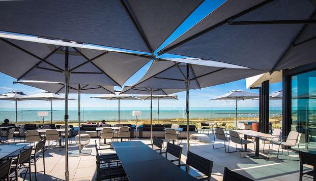 La Grande Terrasse Hotel Spa La Rochelle Mgallery By Sofitel - terrace