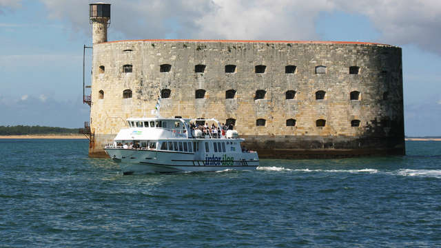 Escapade en mer vers Fort Boyard au départ de la Rochelle