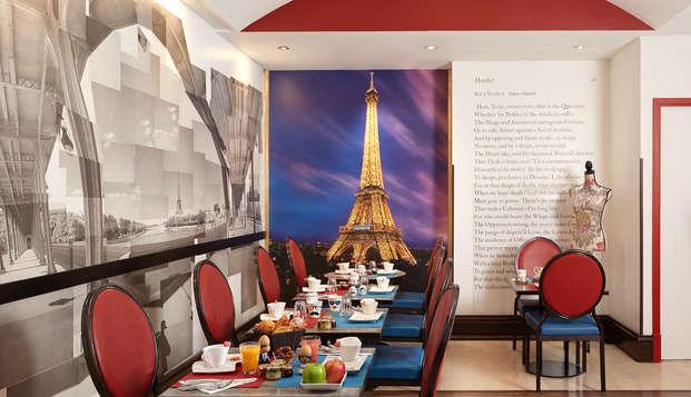 Hotel Waldorf Trocadero - breakfast