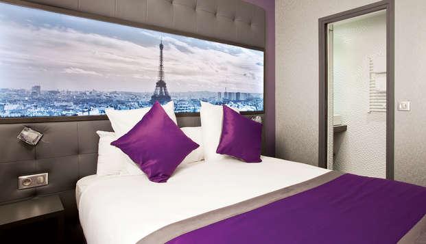 Week-end design en chambre supérieure dans un 4* au cœur de Paris