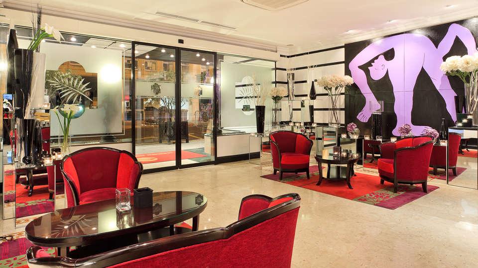 Best Western Plus Hotel Massena Nice  - EDIT_salon.jpg