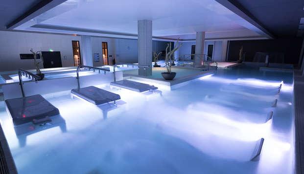 Recorrido spa Aquatonic en un hotel 4* cerca de Disneyland® Paris