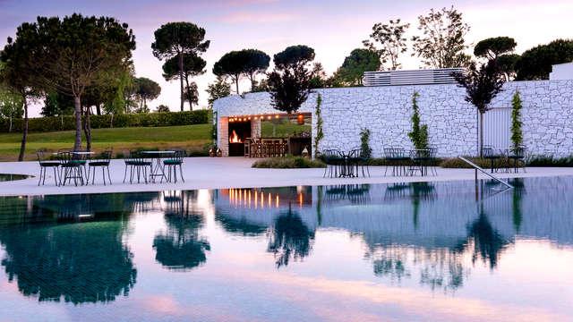 Spa Lovers: Acceso al spa, sales de baño, botella de cava y salida tardía en Caldes de Malavella