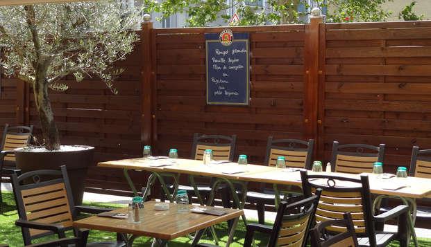 Best Western Saphir - terrace