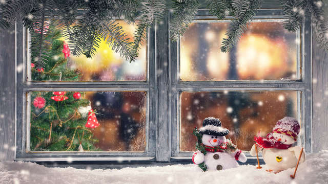 Kerstaanbieding met diner in de Ardennen