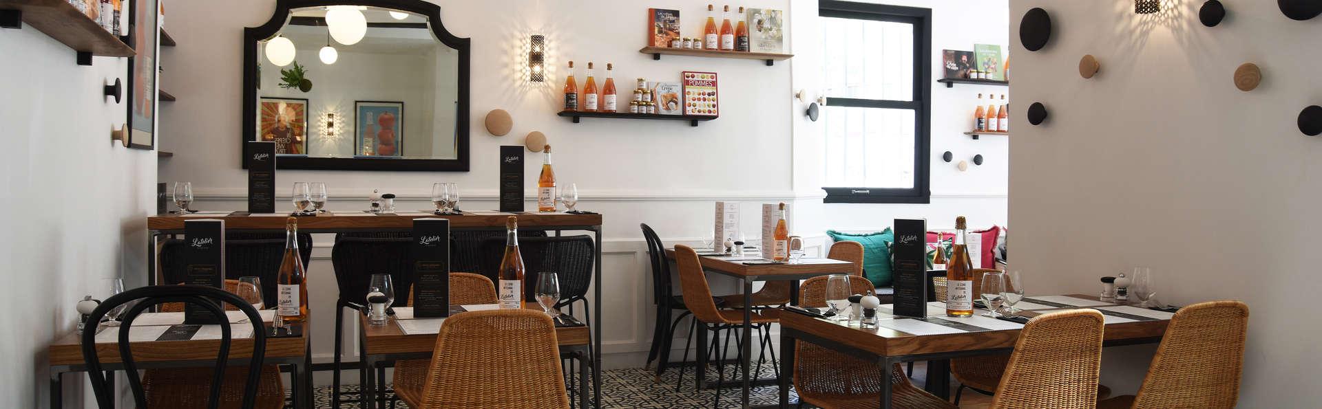 Escapade avec dîner dans une crêperie Parisienne