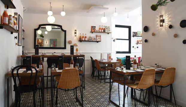 Estancia 3* con cena para dos en París