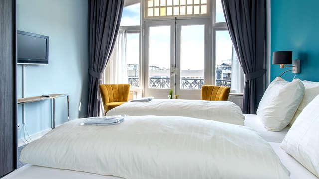 Uitwaaien aan de kust van Vlissingen in een deluxe kamer