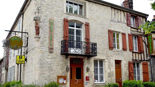 Bulle de tranquillité près de Chaumont